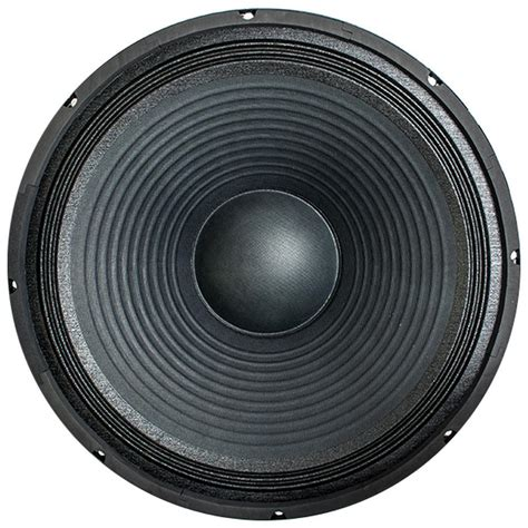 Speaker Canon 18 Inch 18 inch steel frame subwoofer driver seismicaudio