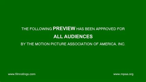free quot mpaa preview screen quot after effects template