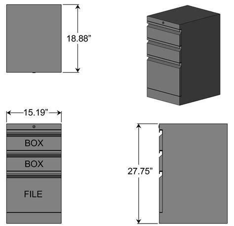 file drawer box dimensions box box file cabinet for l shaped desks caretta workspace