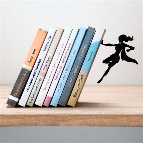 100 be right back bookends the mortal instruments supergal bookend by artori design cool gifts