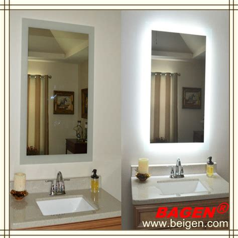 quality bathroom mirrors top quality bathroom framed lighted mirror 16years supply