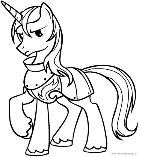 coloring pages my little pony shining armor my little pony shining armor coloring pages