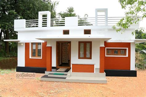 house plans with pictures of real houses 1250 square feet kerala house plan with two bedrooms