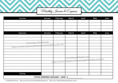 printable debt tracker allaboutthehouse printables