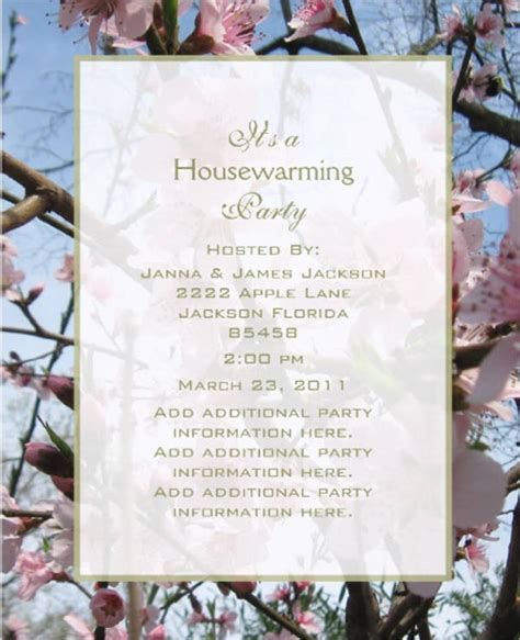 housewarming invitation india 8 housewarming invitation templates free download
