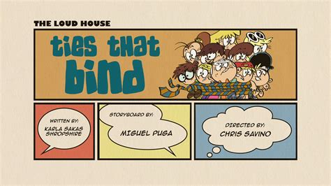 ties  bind  loud house encyclopedia fandom powered  wikia
