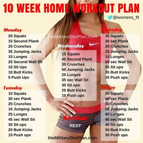 best 25 10 week workout plan ideas on 10 week