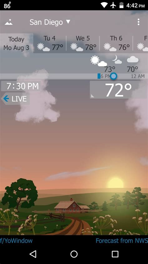 best free weather app for android the 5 best weather apps for android 171 android gadget hacks