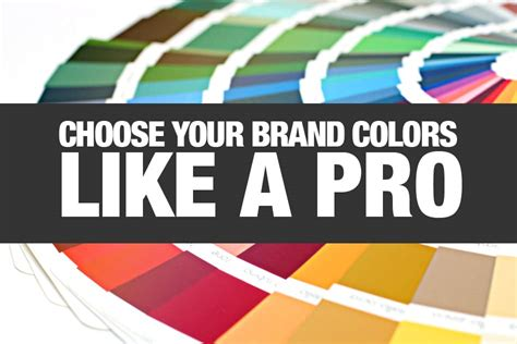 choose color choose your brand colors like a pro dustn tv