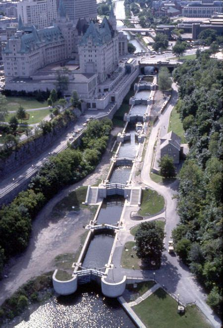 Canal Rideaux by Rideau Canal Spent A Few Weeks Travelling From Ottawa To