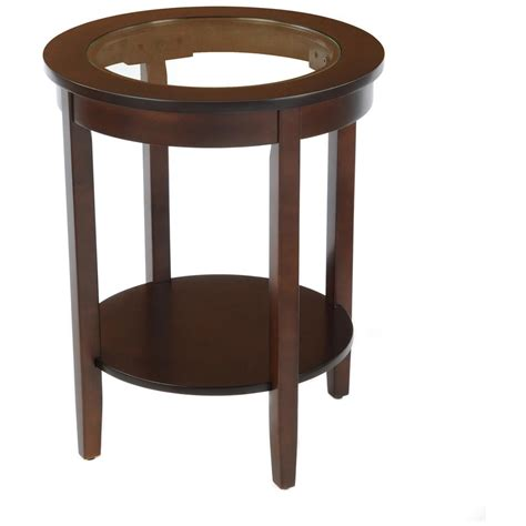 round side tables for living room round side table with glass top 236465 living room at