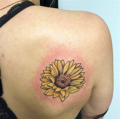 40 fantastic sunflower tattoos that will inspire you to