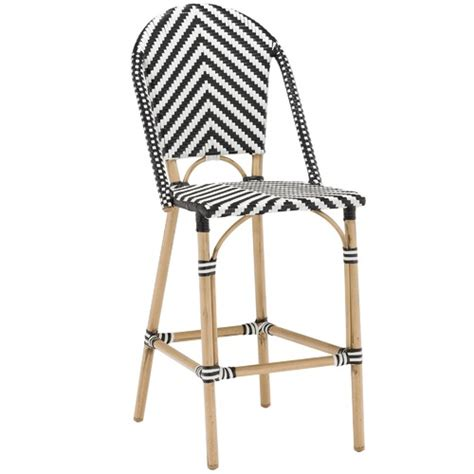 high back bar stools melbourne temple webster wicker cafe high back bar stool