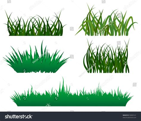 Green Also Search For Green Grass Elements For Design And Decorate Vector