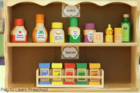 Kitchen Area Labels 1000 Images About Dramatic Play Ideas On