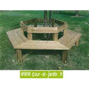 banc tour d arbre en bois pour adultes mobilier de jardin