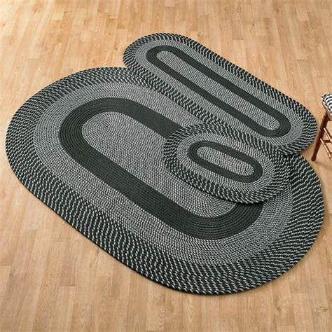 3 braided rug set gallery