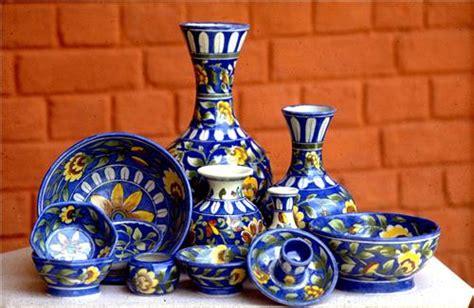 Handcraft Items - jaipur blue pottery blue pottery of jaipur rajasthan
