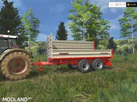 In Ls by Puehringer Kipper Ballenwagen Mod For Farming Simulator