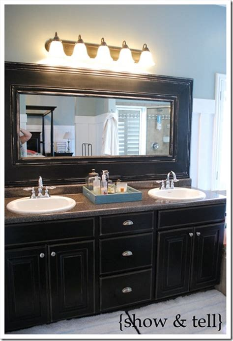 bathroom mirror trim 10 diy ideas for how to frame that basic bathroom mirror