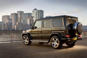 2011 Mercedes G Class Eco Friendly Mercedes G Class Edition Will Be