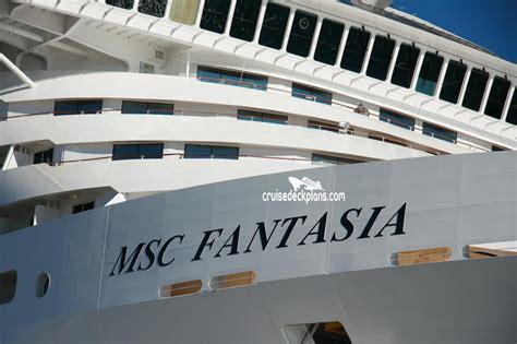 cabine msc fantasia msc fantasia deck plans diagrams pictures