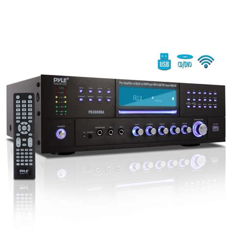 pyle pdba home  office amplifiers receivers