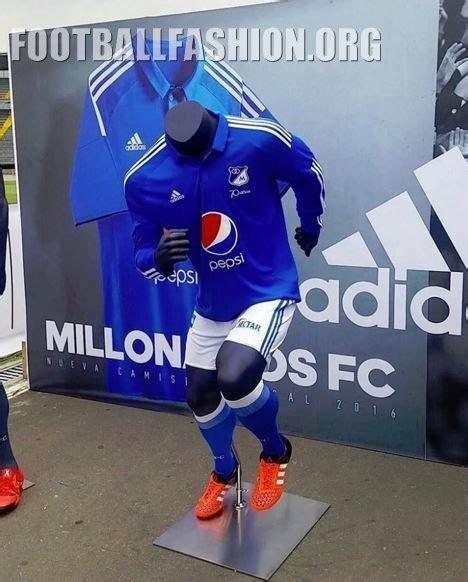 millonarios jersey 2015 millonarios fc 2016 adidas home and away kits football