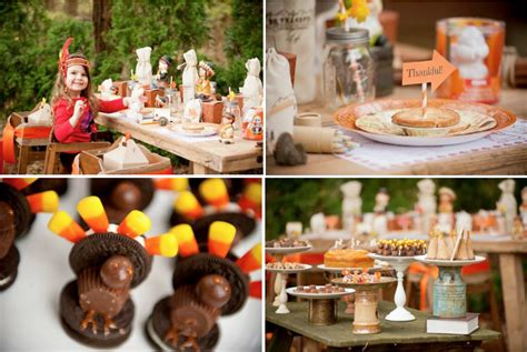 party themes november kara s party ideas kids childrens thanksgiving fall turkey