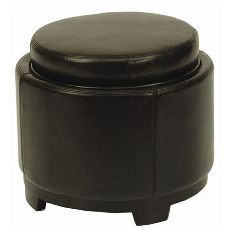 circular leather ottoman 17 best ideas about round leather ottoman on pinterest