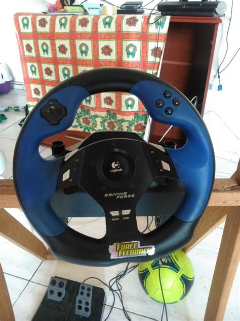 volante feedback volante logitech driving feedback r 250 00 em