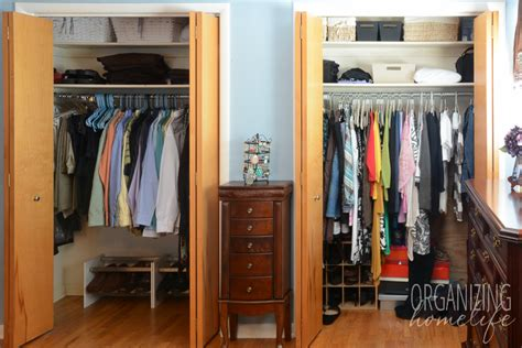 organize bedroom closet master bedroom closet disorganization and the solution