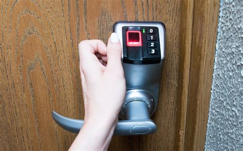 itouch fingerprint door lock adel biometric fingerprint door lock new model