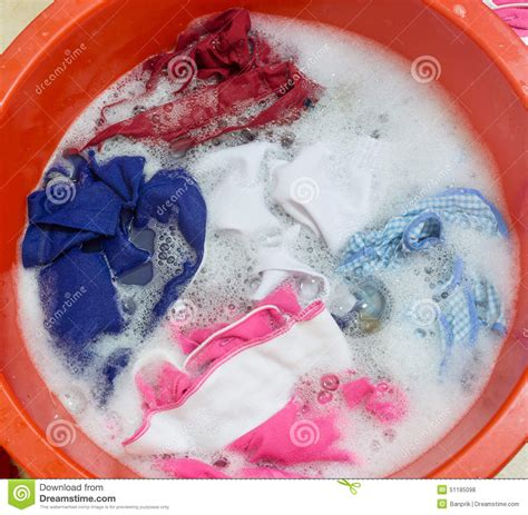 Wash Clothes In Bathtub by Clothes Soak In Tub Stock Photo Image Of Soak