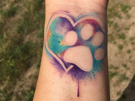 watercolor heart tattoo cool watercolor tattoos 2017 designsmag