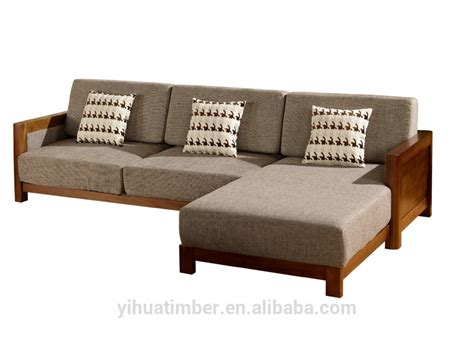 new style wooden sofa set style solid wood sofa design modern wood sofa