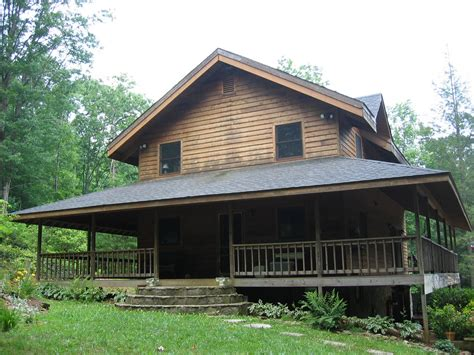Cabin Porch by Tate City Ga