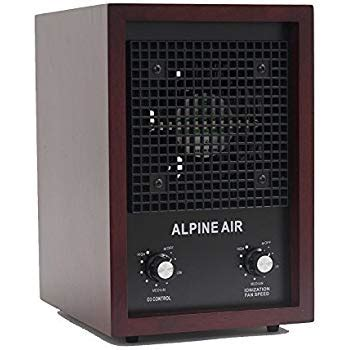 amazoncom alpine air living fresh air purifier ionizer ozone air cleaner  sq feet cherry