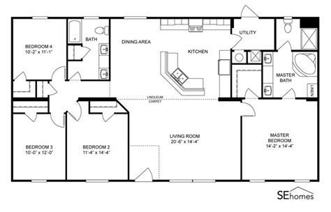 clayton floor plans clayton homes home floor plan manufactured homes