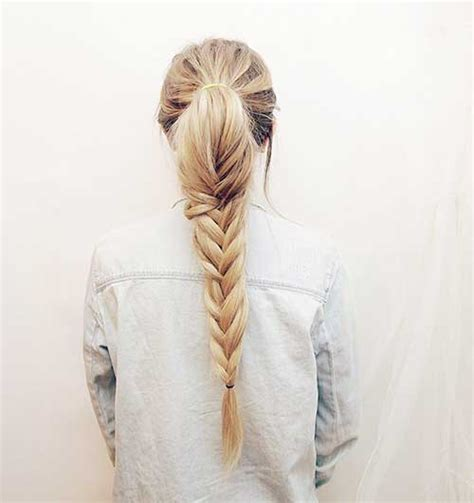fishtail hairstyle 15 fishtail braids hairstyles hairstyles haircuts 2016