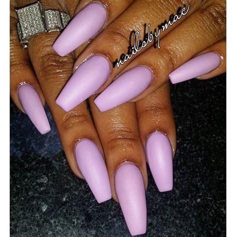 light purple nail light purple matte finish acrylic nail x