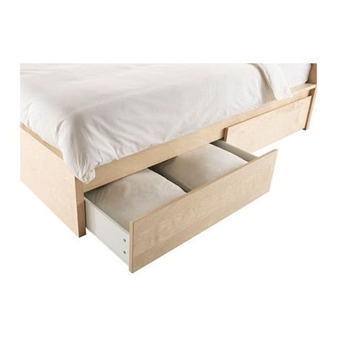 Malm Bed With Drawers by Malm High Bed Frame 4 Storage Boxes The 4 Large