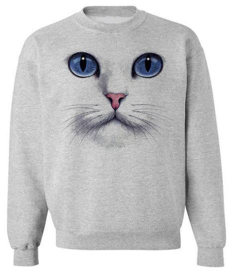 Sweater Cat N cat sweatshirt unisex pullover crew from skip n whistle