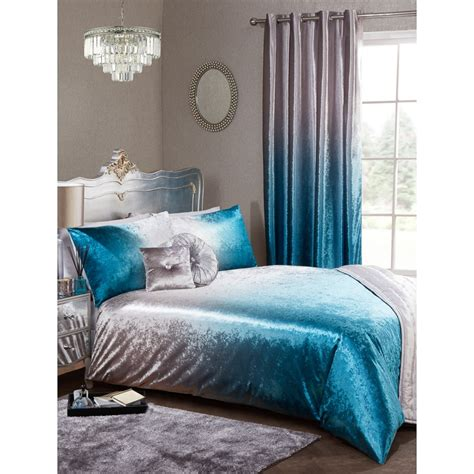 ombre bedding full ombre velvet duvet set king bedding b m