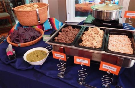 Nacho Bar Toppings by Menu Ideas Brock Masterson S Catering Events 937 298 1234
