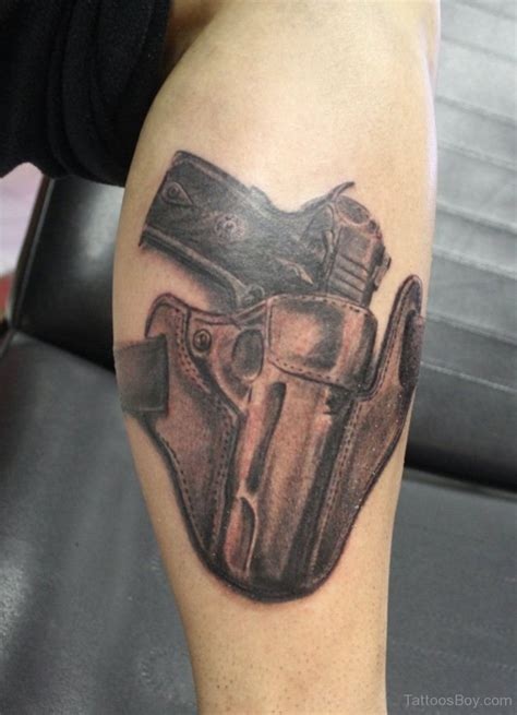 gun holster tattoo design gun tattoos designs pictures page 4