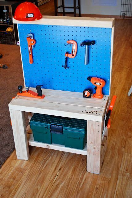 bench work tools diy kids tool work bench for my munchkins pinterest