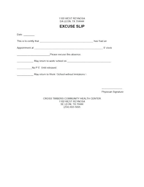 doctors excuse templates for work doctor sick note for work template emergency room doctors