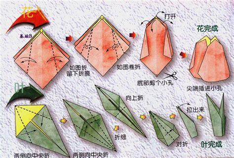 Classic Origami - classic tulip origami