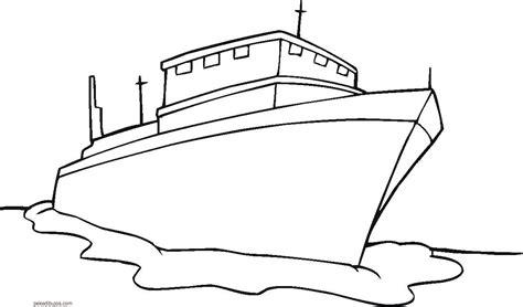 imagenes de un barco para colorear dibujos de barcos para colorear